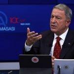 ترکی کے صبر کو نہ آزمایا جائے، ترک وزیر دفاع ہلوسی آکار