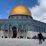 قبلہ اول مسجد اقصیٰ میں نماز جمعہ کی ادائیگی