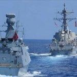 ترکی اور ترک قبرص کی مشرقی بحیرہ روم میں مشترکہ فوجی مشقیں شروع