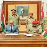 پاکستان اور عمان کے درمیان فوجی تعاون کا معاہدہ طے پا گیا