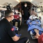 یمن میں زخمی امدادی کارکن ایئر ایمبولینس کے ذریعے ترکی واپس پہنچ گیا