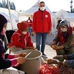 ترکی میں غیر ملکی طالب علموں کی زلزلہ متاثرین کی مدد