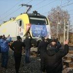 چین کے لئے برآمدی سامان لے جانے والی ترکی کی کارگو ایکسپورٹ ٹرین انقرہ پہنچ گئی