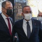 ترک وزیر خارجہ کی اپنے روسی ہم منصب سے روس میں ملاقات