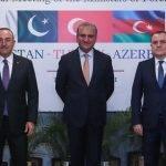 پاکستان، ترکی، آذربائیجان کا سہ فریقی اجلاس، اسلاموفوبیا کے خلاف مضبوط بلاک بنانے کا فیصلہ