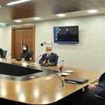 """ٹیم """"ترک لالا """" کی ترک وزیر ثقافت و سیاحت سے ملاقات"""