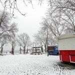 استنبول میں شدید برفباری ، پیر سے بدھ تک اسکول بند