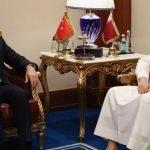 ترک وزیر خارجہ چاوش اولو  کی قطر کے وزیر خارجہ شیخ بن عبد الرحمان سے ملاقات