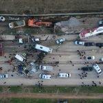 ترکی : متعدد گاڑیوں کے تصادم میں 3 افراد ہلاک ، 21 زخمی