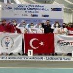 ترکی نے یورپین انڈور ایتھلیٹس چیمپن شپ جیت لی