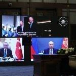 ترکی میں نیوکلیئر پاور پلانٹ کے تیسرے یونٹ کا سنگ بنیاد، صدر ایردوان اور روسی صدر پیوٹن کی شرکت
