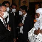 ترک نائب صدر کی  نائجرکے صدر کی تقریبِ حلف برداری میں شرکت