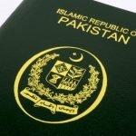 دنیا میں پاکستانی پاسپورٹ کی عزت بڑھ گئی،رینکنگ 192 سے 107 پر آگئی