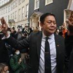 برطانیہ میں میانمار کے سفیر کو سفارتخانے سے نکال دیا گیا