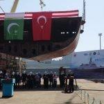 """پاکستان کے لئے دوسرے """"میلجم جنگی بحری جہاز"""" کی استنبول شپ یارڈ میں تیاری شروع"""