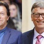 پاکستانی وزیراعظم عمران خان اور بِل گیٹس میں ٹیلی فونک رابطہ
