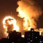 غزہ پر اسرائیلی بمباری ،  شہدا کی تعداد26 ہوگئی