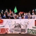 دنیا بھر میں اسرائیلی جارحیت  کے خلاف احتجاج جاری