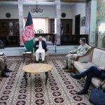 پاک فوج کے سربراہ کا دورہ افغانستان، صدر اشرف غنی سے ملاقات