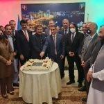 آذربائیجان کے قومی دن کی مناسبت سے اسلام آباد میں  آذری ایمبیسی کے زیر اہتمام  تقریب کا انعقاد