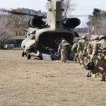 افغانستان میں تعینات بین الاقوامی افواج کا انخلا  شروع