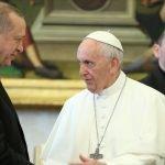 صدر رجب طیب ایردوان کا عیسائیوں کے روحانی پیشوا پوپ فرانسس کو ٹیلیفون