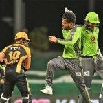 پی ایس ایل: لاہور قلندرز  نے پشاور زلمی کو 10 زنز سے شکست دے دی