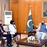 پاکستان آذربائیجان کے ساتھ تجارتی ، دفاعی ، ثقافتی اور سیاحتی تعلقات میں مزید بہتری چاہتا ہے  ، صدر پاکستان ڈاکٹر عارف علوی