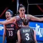 ترک خواتین ٹیم نے اٹلی میں ہونے والی وویمنز والی بال نیشنز لیگ میں چین کو  شکست دے دی