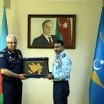 پاک فضائیہ کے ایئر وائس مارشل طارق ضیا کا دورہ آذربائیجان