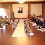 پاک فوج کے سربراہ جنرل قمر جاوید باجوہ کا دورہ آذربائیجان