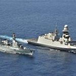 پاک بحریہ کے جہاز پی این ایس سیف نے اطالوی بحری جہاز کے ہمراہ خلیج عدن میں بحری مشق میں حصہ لیا