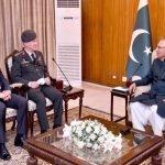 پاکستانی صدر ڈاکٹر عارف علوی سے ترکی کی بری فوج کے کمانڈر کی ملاقات