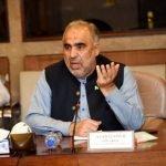 سپیکر قومی اسمبلی پاکستان اسد قیصر کا پاکستان اور آذربائیجان کے مابین دوطرفہ پارلیمانی تعلقات کو فروغ دینے کے عزم کا اظہار
