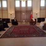 پاکستانی وزیر خارجہ شاہ محمود قریشی کی بحرین کے ولی عہد شہزادہ سلمان بن حمد بن عیسی الخلیفہ سے ملاقات