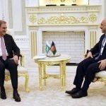 پاکستانی وزیرخارجہ شاہ محمود قریشی کی افغان ہم منصب سے ملاقات