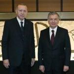 ترک صدر ایردوان اور ازبکستان کے صدر شوکت مرزایوف کے درمیان ٹیلی فونک رابطہ