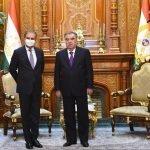 پاکستانی وزیر خارجہ اپنے چار ملکی دورے کے پہلے مرحلے میں، تاجکستان پہنچ گئے